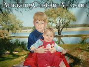 Turn your photo into Painting By - AmazingCustomArt